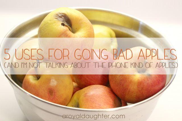5 Uses for going bad apples