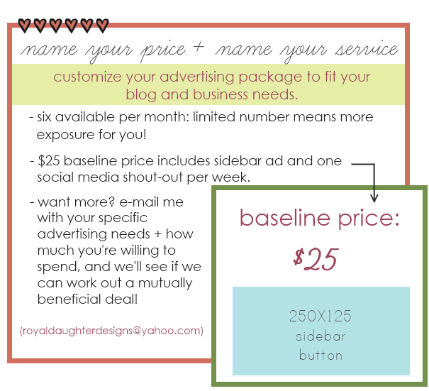 Advertising Packages march