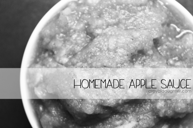How to Make Homemade Apple Sauce1