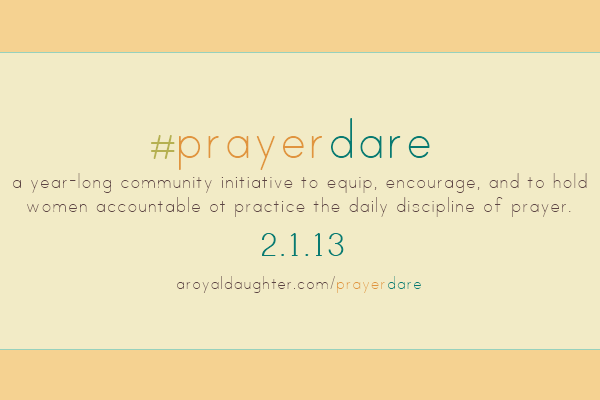 Prayer Dare Graphic