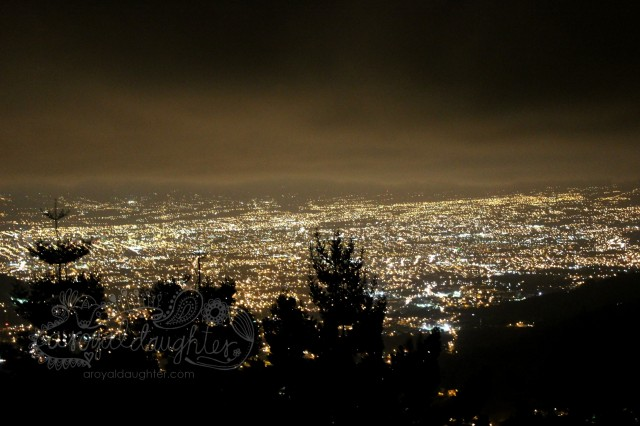 San Jose Costa Rica at night