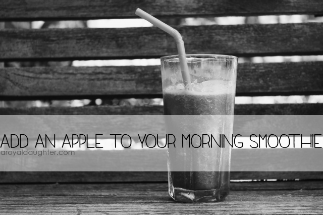 Smoothie with Apple
