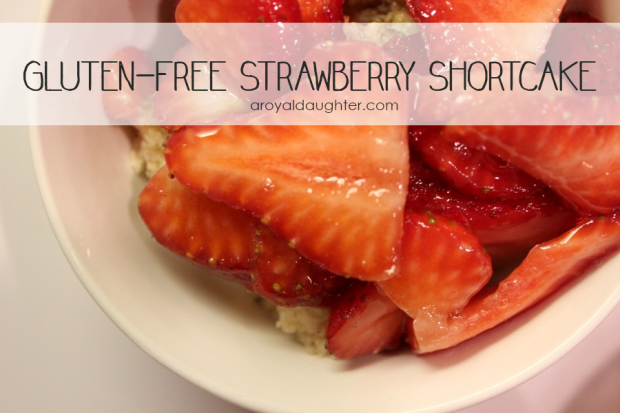 Gluten-Free Stawberry Shortcake