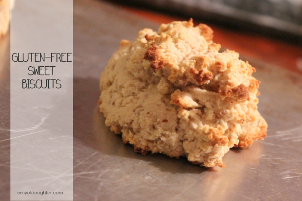Gluten-Free Sweet Biscuits