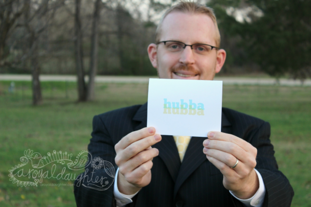 Hubba Hubba cards from Red Letter Paper Co