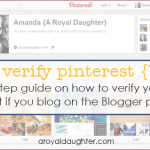 How to Verify Your Pinterest Account