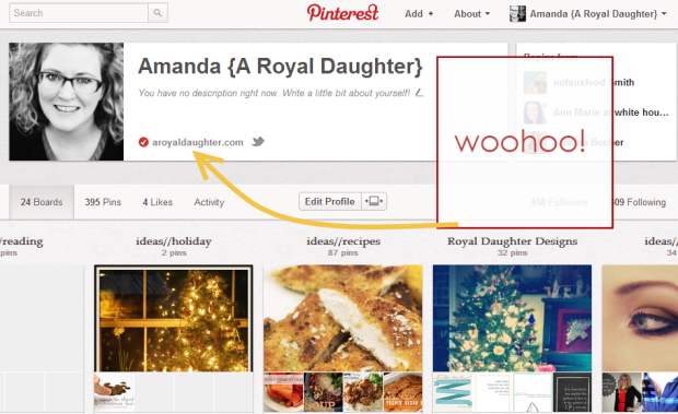 How to Verify Pinterest WordPress1