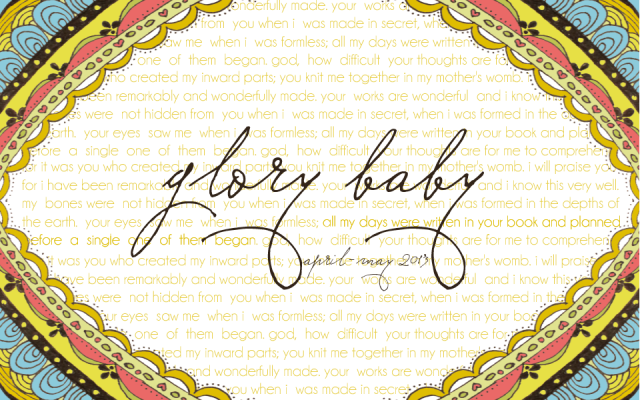 A Letter to our Glory Baby, two years later