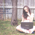 Writing a Mission Statement for Your Blog
