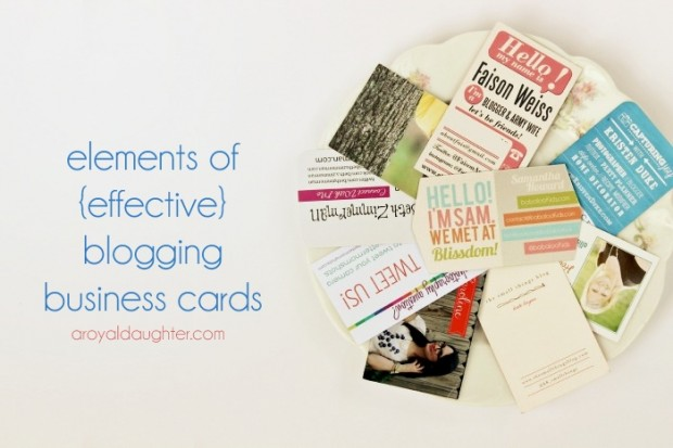 Blogging business cards blogger business cards colourmoves