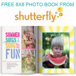 Free Shutterfly Photobook + More Steals & Deals!