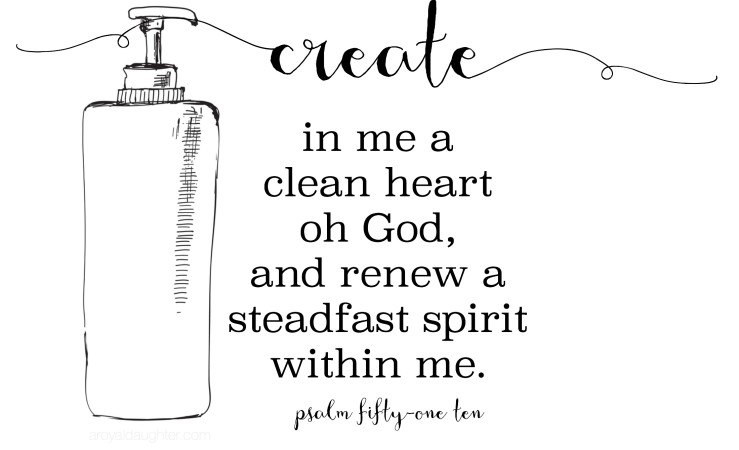 truth for your Sunday | Psalm 51:10 printable