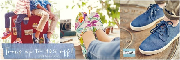 Toms on Zulily